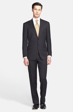 Canali Classic Fit Wool Suit (Free Next Day Shipping) available at #Nordstrom