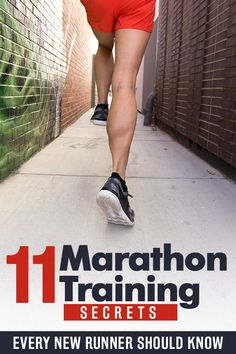 Marathon training secrets for new runners! Everything you need to know to run a marathon #running #marathon