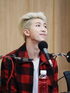 Oh my oh my...Namjoon's cute eyes :D