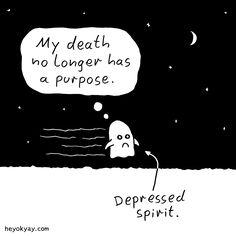Spirit. #depressed #depression #death #heyokyay