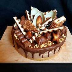 Chocolate Chip Cookies Rezept, Chocolate Oreo Cake, Chocolate Desserts, Easy Smoothie Recipes, Snack Recipes, Chocolate Birthday Cake Decoration, Chocolate Cake Designs, Chocolate Covered Treats, Pumpkin Spice Cupcakes