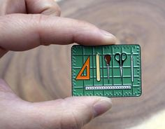 Bookbinding Tools Enamel Pin for Book Artists Bookbinding Tools, Jacket Pins, Pin Art, Cool Pins, Pin And Patches, Pin Badges, Lapel Pins, Pin Collection, Mugs