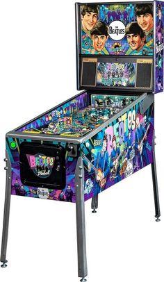 The Beatles Pinball Machine Arcade Game Machines, Arcade Machine, Arcade Games, Beatles Poster, The Beatles, Pinball Wizard, 1960s Toys, Baby Foot, Beatles Photos