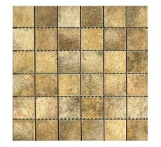 FTCR082 Rustic Dark Porcelain Mosaic 48x48mm R39.99 My Canvas, Bathroom Ideas, Grid, Mosaic, Mosaics, Bathrooms Decor, Mosaic Art, Tile Mosaics