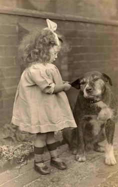 History of dogs in photos. Facebook