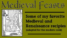 modern recipes from medieval texts. This page has, unfortunately, automusic, but it only lasts about 30 seconds.