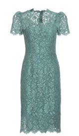 Lace dress by Dolce & Gabbana---  I love this color