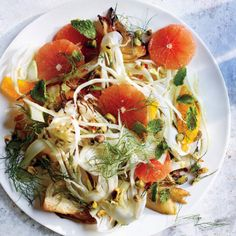 Roasted and Raw Fennel Salad With Blood Orange Recipe