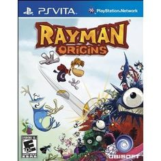Rayman Origins - Top 10 Best PS Vita Video Games