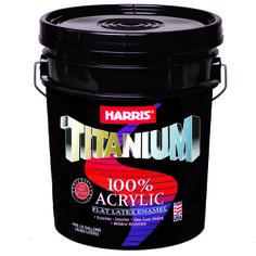 TITANIUM 100% Acrylic - Pintura látex 100% acrílica de alta calidad, rápido secado y gran cobertura.  Disponible en varios acabados: Semi-gloss, Flat y Satin.