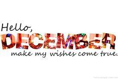 Hello December ☺