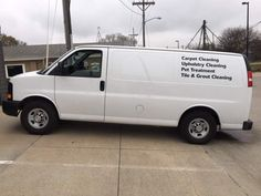 The van includes a Truckmount as well. Truckmount is a Peak model is The Truckmount has hours. How To Clean Vans, How To Clean Carpet, Carpet Cleaning Equipment, Chevy Express, Chevy Van, New Tyres, Garage Organization, Chevrolet, Business