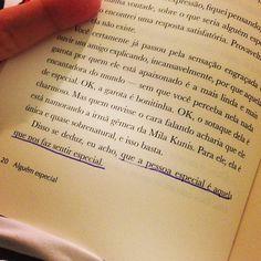 grifeinumlivro:  Alguém especial. Ivan Martins. pág. 20 (via...