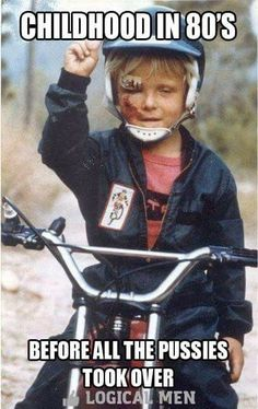 This is how I started my love of motorcycles over 48 years ago - beat up, bloody, bruised, dirty and still wanting to go faster. I wasn't a bright kid, but I knew how to have fun. Still do.