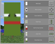 Top 10 Coolest Banners In Minecraft Minecraft Banner Patterns, Cool Minecraft Banners, Cute Minecraft Houses, Amazing Minecraft, Minecraft Decorations, Minecraft House Designs, Minecraft Creations, Minecraft Crafts, Minecraft Circle Chart