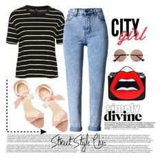 """""""STREET STYLE"""" by bruna-cortes ❤ liked on Polyvore featuring Alexandre Birman, Topshop, WithChic, Cutler and Gross, Yazbukey, WALL, StreetStyle, velvet and CelebrityStyle"""