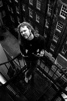 James Hetfield - Metallica - London, 1992.