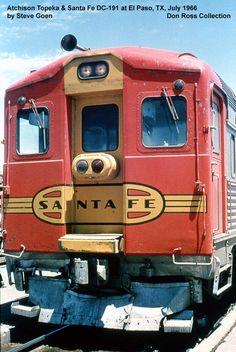 Santa Fe Budd RDC-1.