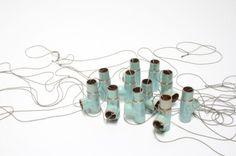 Phylicia Gilijamse, Tak, 2010, copper, enamel, cord