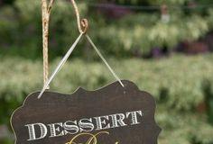 Dessert Bar ! Great styling ideas on blog