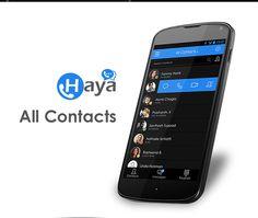 Haya Android/iOS Mobile App by Sharan Surpur, via Behance