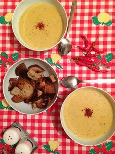 Supa de linte cu menta si chilli Fondue, Cheese, Ethnic Recipes, Mint