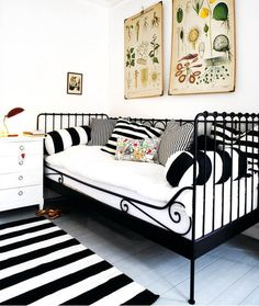 + estilo vintage : Sofás-camas de forja | El Taller de Carola