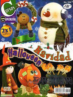 Blog de Santa clauss: moldes para figuras navideñas foamy