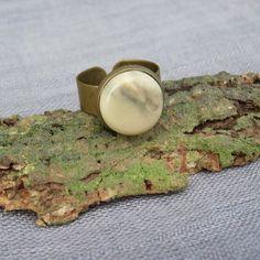 Speckstein Bronze Ring  by Speckstein-Fee von SpecksteinFee auf Etsy