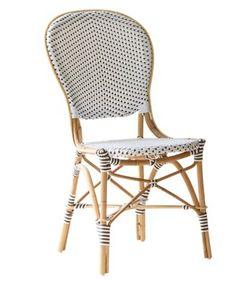Wunderbar Sika Design Rattan Stuhl Isabell Weiß 2er Set