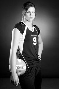 poses for senior pictures volleyball - Google Search