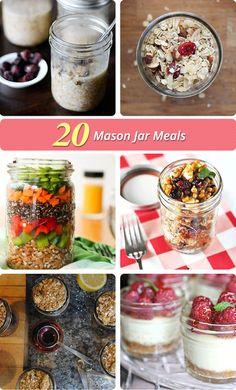 20 Mason Jar Meals | The Budget SocialiteThe Budget Socialite