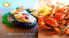 The Humble Mushroom- In all of its tasty glory, it is….. Not just tasty, but brings great nutrition to the dinner table Family restaurant recipe from the East coast. Did somebody say something about Crab? #mushroom #stuffedmushroom #crabstuffedmushroomrecipe
