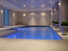 1000+ images about Swimming Pool Interiors on Pinterest Indoor swimming pools, Indoor pools ...
