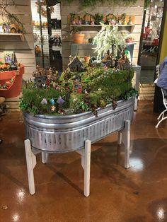 Dallas Market Jan 2017 Georgetown Fairy Garden | Store Display Ideas |  Pinterest | Store Displays