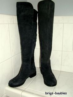 100%  Authentic Stuart Weitzman Suede Over Knee Boot Sz 4M! - Retail $635+  Starting under $60!!!!!  SOLD!!!