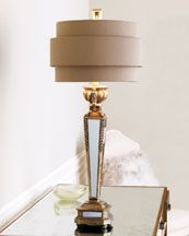 H4ZCC Mirrored Table Lamp
