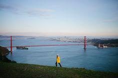 A San Francisco morning.