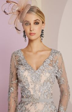 Veni Infantino Wedding Outfit - Colour Platinum & Antique Rose - Price Buy online today with next day delivery - money-back guarantee. Mother Of Groom Outfits, Mother Of The Bride Gown, 50s Dresses, Dresses For Sale, Bride Dresses, Wedding Guest Fascinators, Wedding Outfits, Wedding Dresses, Wedding Bride