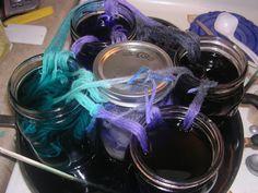 Hand Dye Yarn