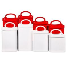 Wavy Square Canisters (Set of 4) - BedBathandBeyond.ca