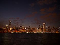 Love, love, love, love, LOVE this city!  Chicago skyline (Limited Edition) by Dan Susek