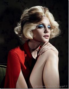 Jessica Stam – Long Day's Journey Into night, W by Willy Vanderperre, January 2013