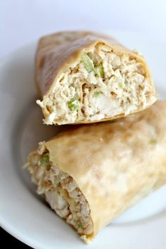 Paleo Chicken Salad Wraps with a great homemade mayo (or use safflower mayo)