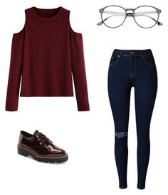 """""""Untitled #132"""" by paolaporoj on Polyvore featuring Shellys"""