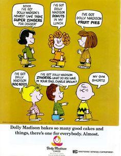 Dolly Madison Cakes