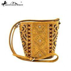Montana West Ridem Cowgirl Bucket Crossbody – Handbag-Addict.com