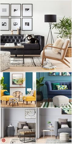 Living Room Sofa, Living Room Chairs, Living Room Colors, Living Room Decor Apartment, Black Couch Living Room, Apartment Living Room, Black Sofa Living Room, Large Living Room Furniture, Couches Living Room