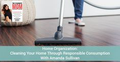 "Amanda Sullivan talks about how ""going with the flow"" helps with home organization."