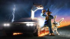 Sam and Max hit the road...in the future!